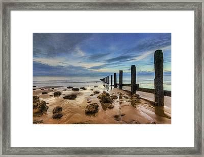 Evening Ocean Framed Print