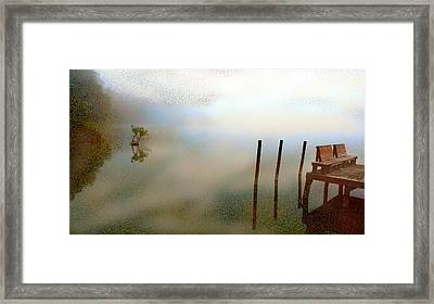Evening Framed Print by Eye Browses