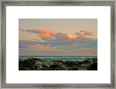 Evening Pastel Framed Print