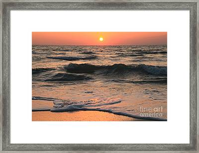 Evening Pastels Framed Print by Adam Jewell