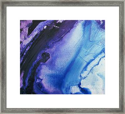 Evening Rain Framed Print