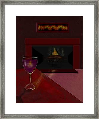 Evening Reflection Framed Print by William  Paul Marlette