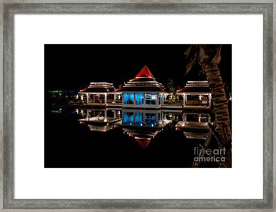 Evening Reflections Framed Print by Adrian Evans