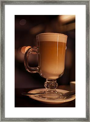 Framed Print featuring the photograph Evening Refreshments by Miguel Winterpacht