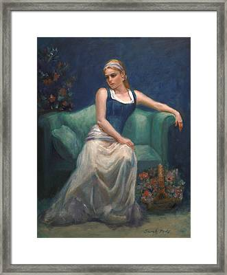 Evening Repose Framed Print by Sarah Parks