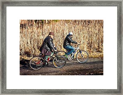 Evening Ride Framed Print by Richie Stewart