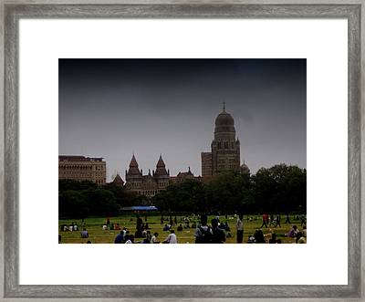 Framed Print featuring the photograph Evening by Salman Ravish