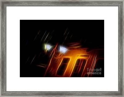 Evening Scene 6 Framed Print by Vassilis Tagoudis