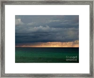 Evening Shadows Framed Print by Amar Sheow