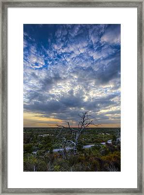 Evening Skies Over Florida Framed Print