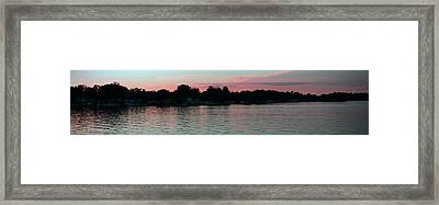 Evening Skies Framed Print by Thomas Fouch