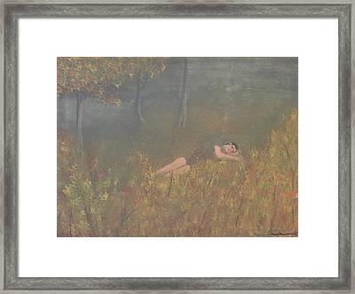 Evening Slumber Framed Print by Tim Townsend