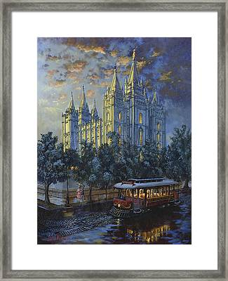 Evening Solace Framed Print by Jeff Brimley