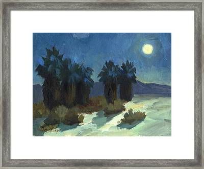 Evening Solitude Framed Print by Diane McClary