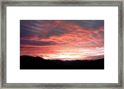 Evening Splendor  Framed Print by William McCoy