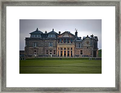 Framed Print featuring the photograph Evening St. Andrews by Sally Ross