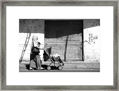 Evening Stroller  Framed Print by Jez C Self