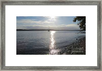 Evening Sunset Framed Print
