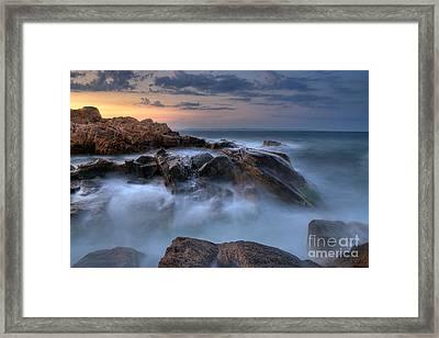 Evening Tides ... Framed Print by Stefan Stefanov