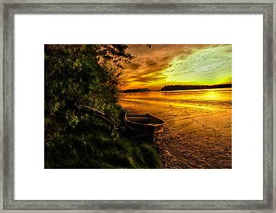 Evening Tranquility Framed Print