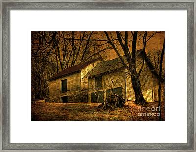Evening Twilight Fades Away Framed Print by Lois Bryan