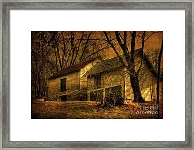Evening Twilight Fades Away Framed Print by Lois Bryan