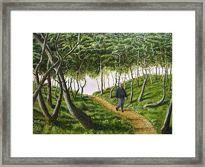 Evening Walk Framed Print by Kenny Henson