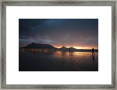 Evening Walk Framed Print