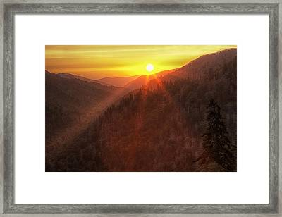 Evening Warmth Framed Print