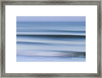 Evening Waves Framed Print by Katherine Gendreau