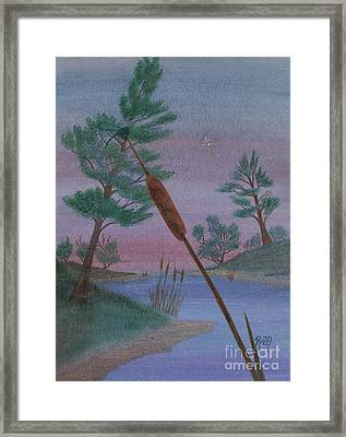 Evening Wish Framed Print by Robert Meszaros