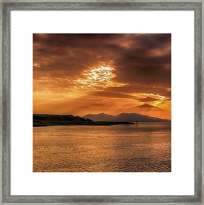 Evenings End Framed Print