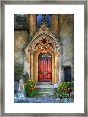Evensong Framed Print by Lois Bryan