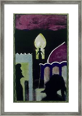 Evensong Framed Print by Walter Clark
