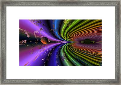 Event Horizon Framed Print by Claude McCoy