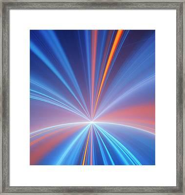 Event Horizon Conceptual Illustration Framed Print