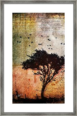 Eventide Framed Print by Gary Bodnar