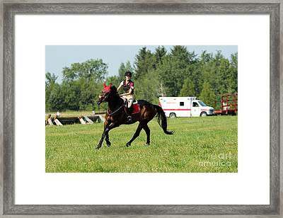 Eventing Fun Framed Print