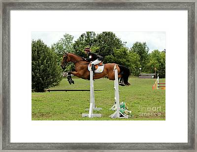 Eventing Jumper Framed Print