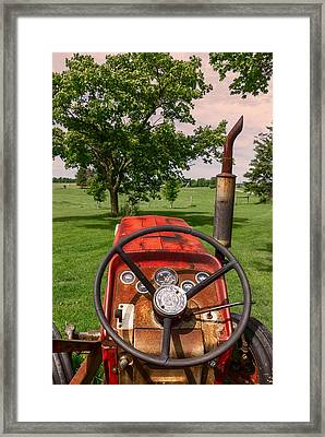Ever Drive A Tractor Framed Print