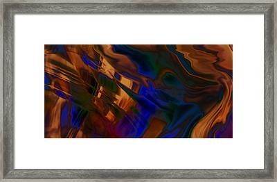 Ever Ending Earth Explore Framed Print by Kyle Wood