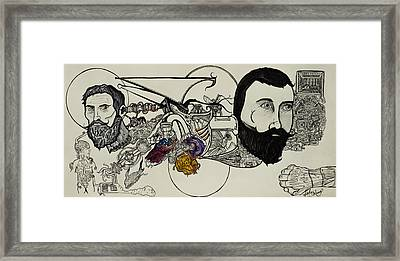 Ever Lasting Youth Aka The Organ Eater Framed Print by Nickolas Kossup