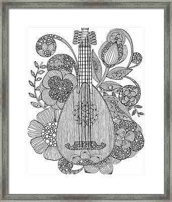 Ever Mandolin Framed Print