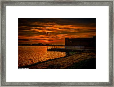 Framed Print featuring the photograph Ever Peacful by Linda Karlin
