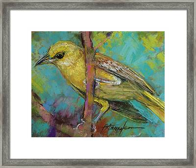Ever Watchful Framed Print by Beverly Amundson