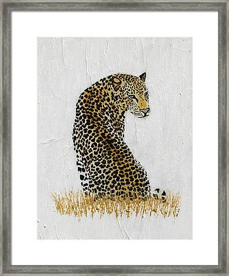 Framed Print featuring the painting Ever Watchful by Stephanie Grant
