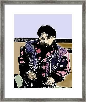 Everett Framed Print by Alice Ramirez