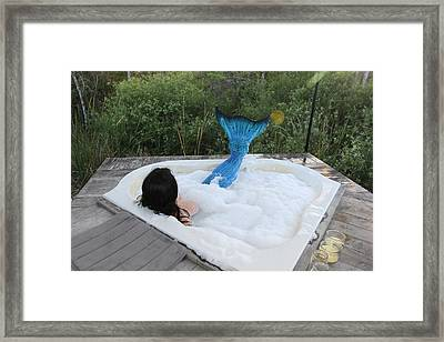 Everglades City Florida Mermaid 018 Framed Print