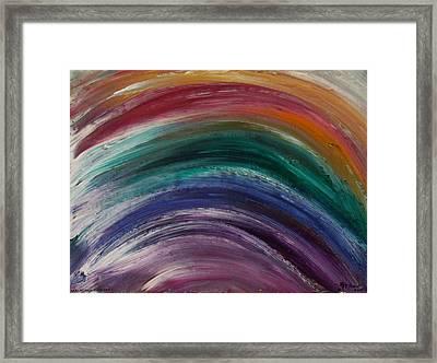 Everlasting Covenant Rainbow Framed Print