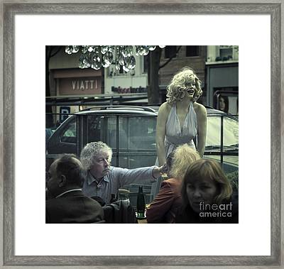 Framed Print featuring the photograph Everlasting Pose by Michel Verhoef
